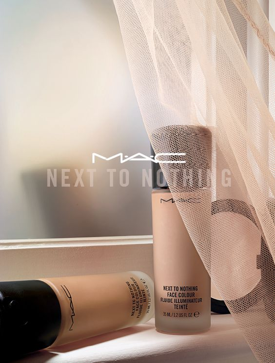 "M.A.C.'s New ""Next to Nothing"" Foundation"